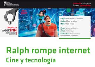 Ralph rompe internet: cine y tecnología