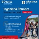 Grado en Robótica: Sesión Informativa