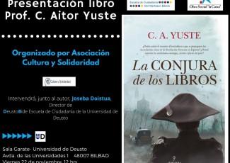 Presentación del nuevo libro de Carlos Aitor Yuste