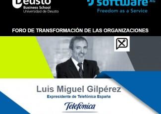 Foro de Transformación de las Organizaciones con Luis Miguel Gilpérez, expresidente de Telefónica