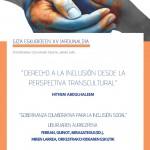 XV Jornada de Derechos Humanos y Trabajo Social