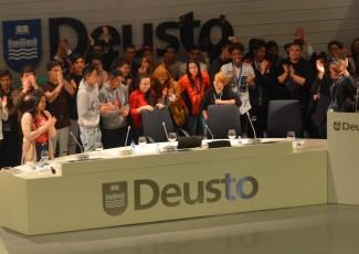 Jóvenes participantes en el Encuentro Nacional y Europeo de Escuelas de Segunda Oportunidad, 17 y 18 de Abril de 2018, Bilbao