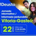 Jornada Informativa de la Universidad de Deusto en Vitoria Gasteiz