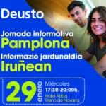 Jornada Informativa de la Universidad de Deusto en Pamplona