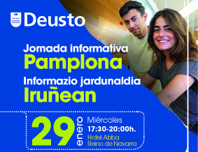 University of Deusto information session in Pamplona