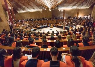 Jornada de investidura de nuevos graduados en Comunicación, Turismo, Trabajo Social y Derecho + Comunicación