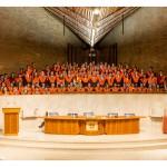 Deusto Business Schooleko graduen eta gradu bikoitzen izendatze ekitaldia Donostian