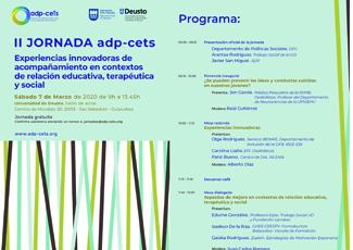 Jornada: Experiencias innovadoras de acompañamiento en contextos de relación educativa, terapéutica y social