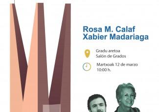 Comunicar en las Fronteras: Rosa M. Calaf/Xabier Madariaga