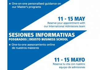 Sesiones Informativas One-to-One | Másteres Deusto Business School