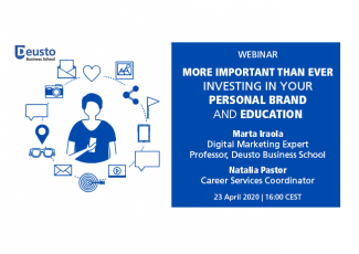 Webinar: More important than ever investing in your Personal Brand and Education