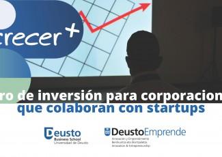 Foro de inversión para corporaciones que colaboran con startups