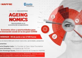 Ciclo de encuentros Ageingnomics: Economía silver y oportunidades para la innovación social en la era post-COVID