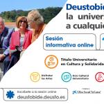 Sesión informativa on line DeustoBide cuso 2020/21