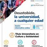 Informazio Jardunaldia. DeustoBide 2020/21 Programazioa