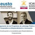 Inauguración de los Programas de Liderazgo Público y Corporativo en Emprendimiento e Innovación: Construyendo un ecosistema para Emprendedores y Corporaciones