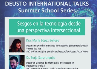 Deusto International Talks - Sesgos en la tecnología desde una perspectiva interseccional