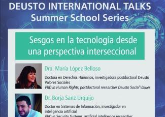 Deusto International Talks - Teknologiaren joerak ikuspegi intersekzionaletik