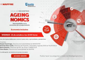 Ciclo de encuentros Ageingnomics: Economía inclusiva