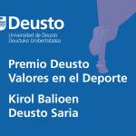 Premio Deusto Valores en el Deporte 2020