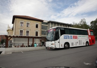 Blood donation at the University - Bilbao campus