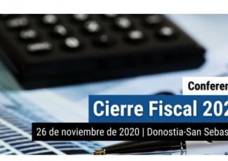 Hitzaldia: 2020ko Itxiera Fiskala