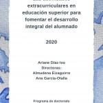 Defensa de la Tesis Doctoral de Ariane Díaz-Iso sobre las actividades extracurriculares en la formación superior