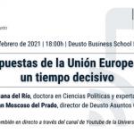 Respuestas de la Unión Europea en un tiempo decisivo: ejes para la recuperación económica