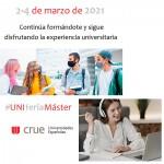 Feria Virtual de Másteres 2021 - UNIFERIA