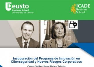 Inauguración del Programa de Innovación en Ciberseguridad y Nuevos Riesgos Corporativos