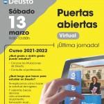 Jornada de Puertas Abiertas Virtual