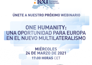 WEBINAR An Opportunity for Europe in the New Multilateralism
