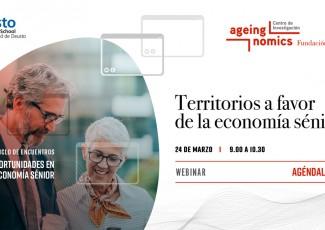 Webinar: Territorios a favor de la economía sénior