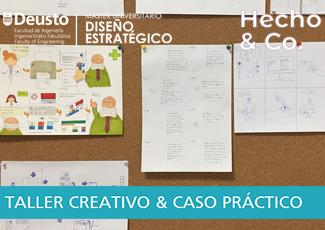 Taller creativo & caso práctico -  Máster Universitario en Diseño Estratégico