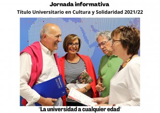 Jornada Informativa 21 de junio, 18,00 hrs. Título Universitario en Cultura y Solidaridad