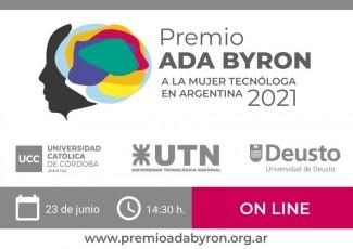 Premio ADA BYRON a la mujer tecnóloga en Argentina 2021
