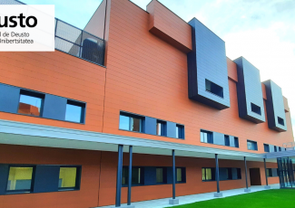 Inauguración del edificio Larramendi