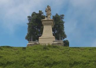 Inauguration of the restored statue of St. Joseph
